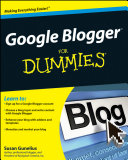 Google Blogger For Dummies Pdf/ePub eBook