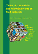 Tables of composition and nutritional value of feed materials Pdf/ePub eBook