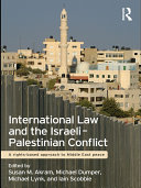 International Law and the Israeli Palestinian Conflict