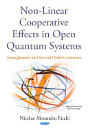Non Linear Cooperative Effects in Open Quantum Systems