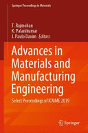 Advances in Materials and Manufacturing Engineering Book
