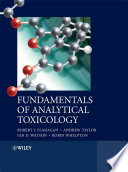 Fundamentals of Analytical Toxicology Book