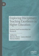 Exploring Disciplinary Teaching Excellence in Higher Education