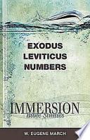 Exodus Leviticus Numbers