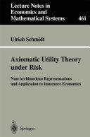 Axiomatic Utility Theory under Risk