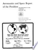 Aeronautics and Space Report of the President ... Activities