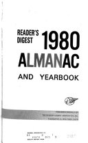 Reader s Digest     Almanac and Yearbook Book