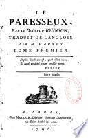 Le Paresseux Par Le Docteur Johnson Traduit De L Anglois Par M Varney