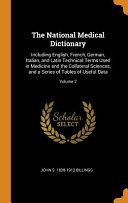 The National Medical Dictionary