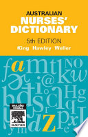 Australian Nurses  Dictionary   E Book Book