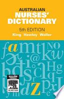 """Australian Nurses' Dictionary E-Book"" by Jennie King, Rhonda Hawley"
