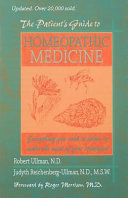 The Patient s Guide to Homeopathic Medicine