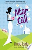 Altar Call Book