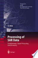 Processing Of Sar Data Book PDF