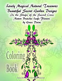 Lovely Magical Natural Treasures Beautiful Secret Garden Designs in the Shape of the Sacred Cross Nature Branches Leafs Flowers