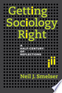 Getting Sociology Right