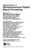 Selected Papers In Multidimensional Digital Signal Processing Book PDF