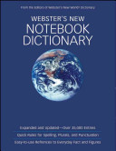 Webster s New Notebook Dictionary  Custom