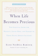When Life Becomes Precious Pdf/ePub eBook