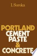 Portland Cement Paste and Concrete