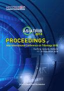 Proceedings of Asia International Conference on Tribology 2018 [Pdf/ePub] eBook