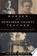 Murder of a Herkimer County Teacher