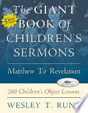 The Giant Book of Children s Sermons Book