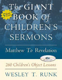 The Giant Book of Children's Sermons
