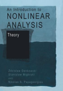 An Introduction to Nonlinear Analysis Book