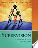 Supervision Concepts And Practices Of Management