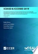 ICEASD ICCOSED 2019