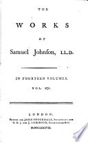 The Works of Samuel Johnson, LL.D