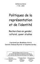 Pdf Politiques de la représentation et de l'identité Telecharger