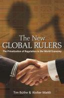 The New Global Rulers