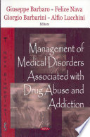 Management Of Medical Disorders Associated With Drug Abuse And Addiction Book PDF