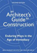 An Architect s Guide to Construction Second Edition