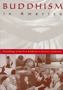 Buddhism in America Book