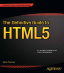 The Definitive Guide to HTML5 [Pdf/ePub] eBook