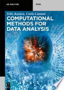 Computational Methods for Data Analysis