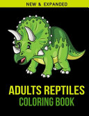 Adults Reptiles Coloring Book
