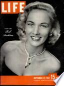 22 sept. 1947