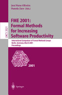 FME 2001  Formal Methods for Increasing Software Productivity