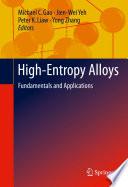 High Entropy Alloys
