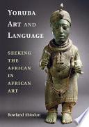 Yoruba Art and Language