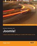 Building websites with Joomla