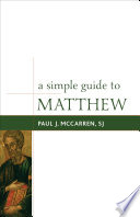 A Simple Guide To Matthew Book PDF
