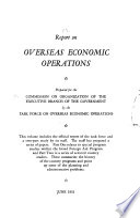 Report on Overseas Economic Operations
