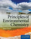Principles of Environmental Chemistry