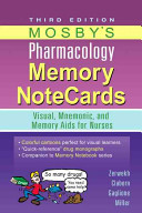 Mosby s Pharmacology Memory Notecards Book