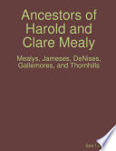 Ancestors Of Harold And Clare Mealy